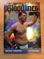 TOPPS UFC 2009 ROUND TWO BLOODLINES ANTONI HARDONK CARD BL-9