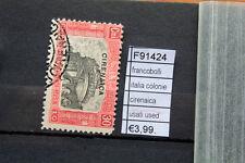 FRANCOBOLLI ITALIA COLONIE CIRENAICA USED USATI (F91424)