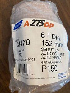 """6"""" A275OP P150 Disc Roll 31478 Brand New!"""