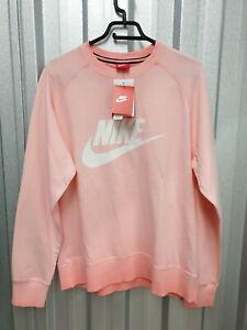Nike AW77 Washed Pink Men's Cotton Sweatshirt Size Large (CT5705 697)
