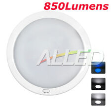 12V 3 pauses Cool White Blue Color Caravan Trailer LED Ceiling Dome Down Light
