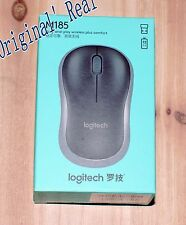 Genuine boxed Logitech M185 wireless mouse comes with a receiver