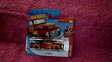 Hot Wheels - UK Card - #85 '49 Ford F1 Pick-Up - Metallic Red