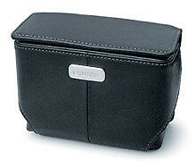 Leather Compact Camera Hard Cases