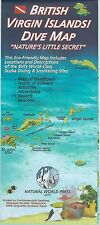 British Virgin Islands Dive & Snorkel Map Waterproof Bvi Map by Frank Nielsen