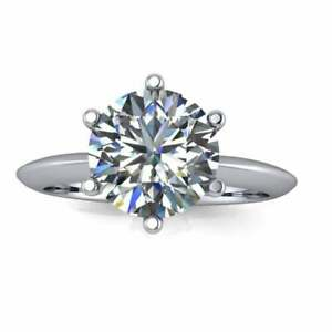 2.0 CT ROUND CUT CZ STONE 925 STERLING SILVER WEDDING RING SET WOMEN'S SIZE 4-13