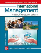 International Management 11E Fred Luthans Jonathan P. Doh 11th Paperback Edition