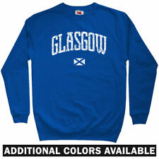 Glasgow Scotland Sweatshirt - Rangers FC Celtic Warriors GB Crewneck - Men S-3XL