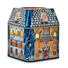 """PartyLite  """" SPOOKY HOUSE"""" 3-WICK JAR CANDLE TIN,   NEW"""