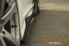 Universal Gloss 185cm Side Steps / Side Skirt Extensions Aero Performance V6