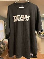 The Rock WWE Authentic Team Bring It Boots To Asses Men's Black T-Shirt 2XL