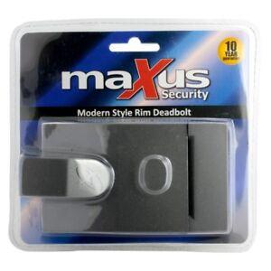 MAXUS SECURITY MODERN STYLE RIM DEADBOLT