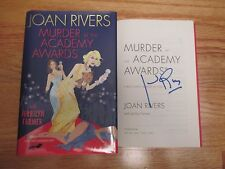 JOAN RIVERS signed MURDER at the ACADEMY AWARDS 2009 Book