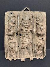 New ListingAfrican Art Benin Bronze Plaque