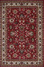 Tapis rouge à motif rectangulaire Floral pour la maison