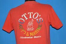 vintage 80s Otto'S Auto And Marine Eliminator Boats Pocket t-shirt Medium M