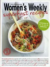 Superfast Recipes by The Australian Women's Weekly FREE AUS POST used paperback