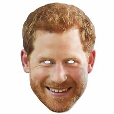 Prince Harry With Beard Official Celebrity Face Mask Royal Family Fancy Dress