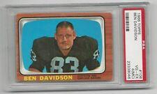 Ben Davidson 1966 Topps Card # 108,  PSA - VG / EX - 4 (MC). Oakland Raiders