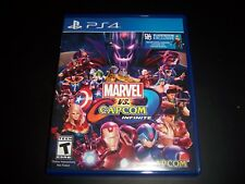 Replacement Case (NO GAME) Marvel vs. Capcom Infinite PlayStation 4 PS4 Box