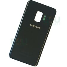 For Samsung Galaxy S9 Back Glass Rear Battery Cover - Midnight Black