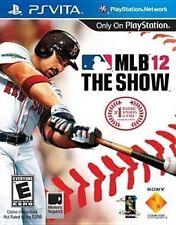 PlayStation Vita MLB 12 The Show VideoGames
