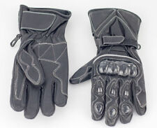 Unbranded Men's Cowhide Leather Exact Motorcycle Gloves