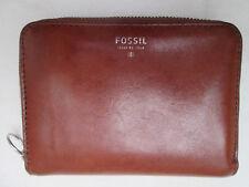 -AUTHENTIQUE portefeuille/porte-monnaie FOSSIL  cuir  TBEG vintage