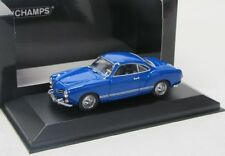 VW Karmann Ghia Coupe ( 1955 ) blau / Minichamps 1:43