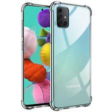 Hülle für Samsung Galaxy A71 Schutzhülle Anti Shock Handy Case Transparent Cover
