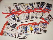 LOT OF 200 AUTOGRAPHED 1998 BOWMAN CHL HOCKEY CARDS-LOADED WITH ROOKIE CARDS