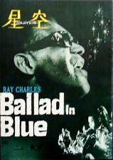 BLUES FOR LOVERS / BALLAD IN BLUE Japanese movie program RAY CHARLES VINTAGE
