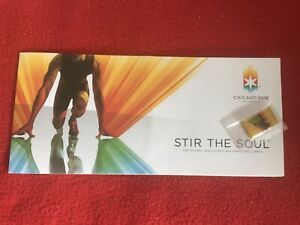 Olympics 2016 Chicago Stir The Soul Bracelet & Pin