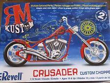 RM KUSTOM CRUSADER CUSTOM CHOPPER REVELL 85-7314 Started