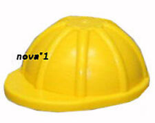 LEGO  YELLOW CONSTRUCTION  HAT FOR  MINIFIGURE  NEW