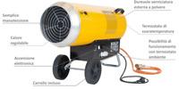 Generatore D'aria A Gas Con Carrello Elettronico BLP 103ET Master Desa 3.260