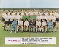 League Football ( Review ) 1972 / 73 No 708,Luton Town Team Picture, Newcastle
