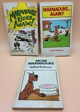 Marmaduke Lot of 3 by Brad Anderson, More, Rides Again, Comics Paperback