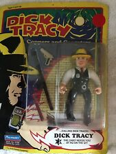Vintage Playmates Dick Tracy Figurine Coppers And Gangsters New!