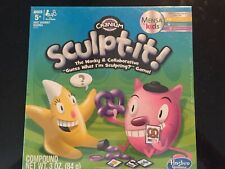 NEW Cranium Sculpt-It Game Mensa Kids Age 5 to Age 12, from Hasbro
