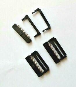 3 Pcs Dual Row IDC Connector 20 Way Female Header 1mm Pitch