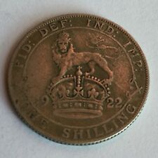 1920 - 1936 King George V Silver One Shilling Coins