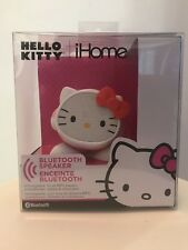 HELLO KITTY Rechargeable Bluetooth Speaker iHome NIB - Stream music wirelessly