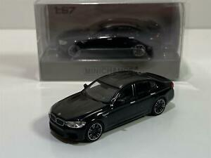 Minichamps 870028002 2018 BMW M5 Black 1:87 Scale