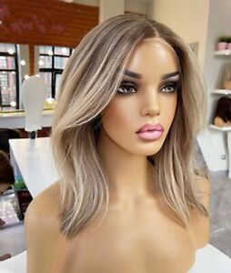 Human Hair Wig Imitation Lace Frontal High Quality Monofilament Wig Online