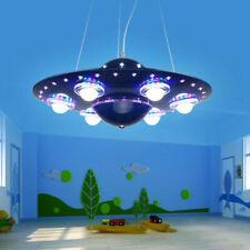 Spaceship LED Chandelier Pendant UFO Lamp Child Bedroom Home Decor Lamps Light