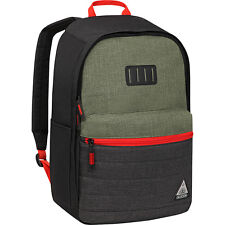 "OGIO 111122.25 Lewis Olive 15"" Laptop Tablet ipad Tech Case Backpack black red"