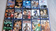 Playstation 2 PS2 Games Bundle x15 Mixed Titles & Genres lot 3