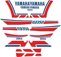 Kit Pegatinas RD 350 LC 1989 , decals Yamaha RD , RD350 Stickers