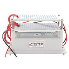 24g 220V Ceramic Ozone Generator Double Integrated Plate Ozonizer U7R8